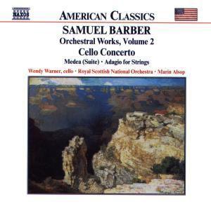 Cellokonzert/Medea/Adagio, Wendy Warner, Marin Alsop, Rsno