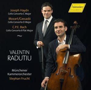 Cellokonzerte, Valentin Radutiu, St. Frucht, Münchener Kammerorch.