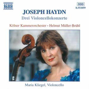Cellokonzerte Hob Viib 1,2+4, Kliegel, Müller-Brühl, Kölner Kammerorchester