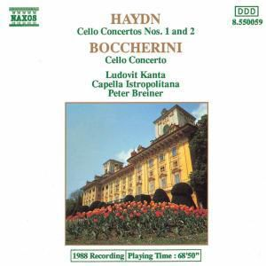 Cellokonzerte Nr.1&2*Naxos, P. Breiner, L. Kanta, Cib