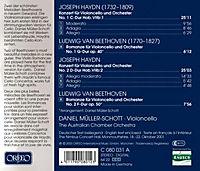 Cellokonzerte/Romanzen 1/2/Romanzen Op.40/50 - Produktdetailbild 1