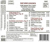 Cellosonaten 1+2 - Produktdetailbild 1