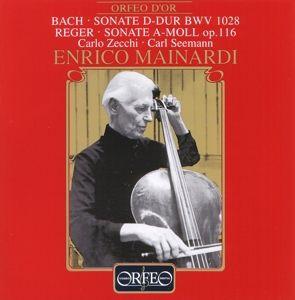 Cellosonaten D-Dur Bwv 1028/A-Moll Op.116, Mainardi, Zecchi, Seemann