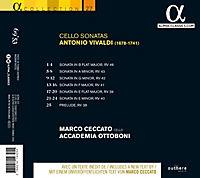 Cellosonaten-Sonaten Rv 46,43,42,41,39,40/+ - Produktdetailbild 1