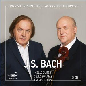 Cellosuiten/Cellosonaten/Französische Suiten, Einar Steen-Nokleberg, Alexander Zagorinsky