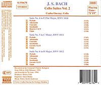 Cellosuiten Vol2 - Produktdetailbild 1