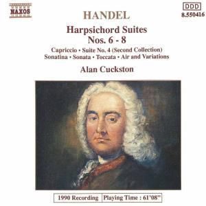 Cembalosuiten 6-8/Capriccio/+, Alan Cuckston