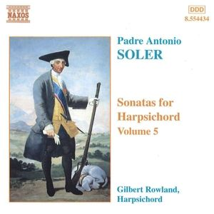 Cembalowerke Vol.5, Gilbert Rowland