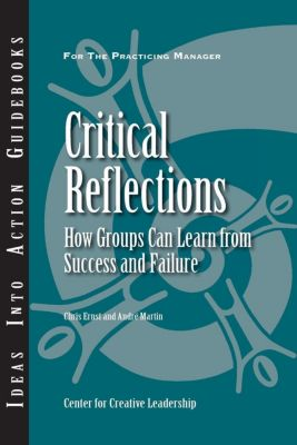 Center for Creative Leadership Press: Critical Reflections: How Groups Can Learn From Success and Failure, Chris Ernst, Andre Martin