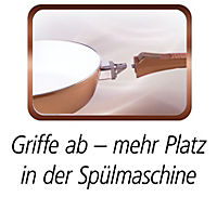 Ceraflon Aluguss Pfannen-Set Quantum 5-tlg., kupfer mit abnehmbaren Griffen - Produktdetailbild 2