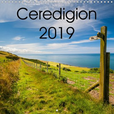 Ceredigion 2019 (Wall Calendar 2019 300 × 300 mm Square), Phil Jones