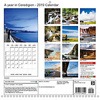 Ceredigion 2019 (Wall Calendar 2019 300 × 300 mm Square) - Produktdetailbild 13
