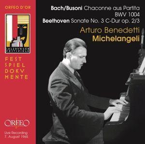 Chaconne/Sonate 3, Arturo Benedetti Michelangeli