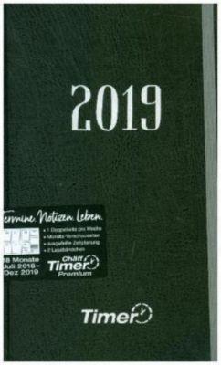 Chäff Timer Premium Silber A5 18 Mon. 2018/2019, Andreas Reiter, Stefan Klingberg