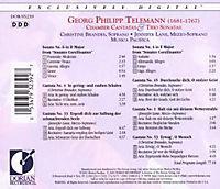 Chamber Cantatas & Trio Sonatas - Produktdetailbild 1