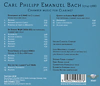 Chamber Music For Clarinet - Produktdetailbild 1