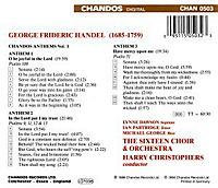 Chandos Anthems Vol.1 - Produktdetailbild 1
