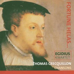 Chansons, Egidius Quartet, Egidius Consort