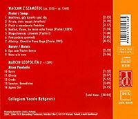 Chansons/Motetten/Missa Paschalis - Produktdetailbild 1