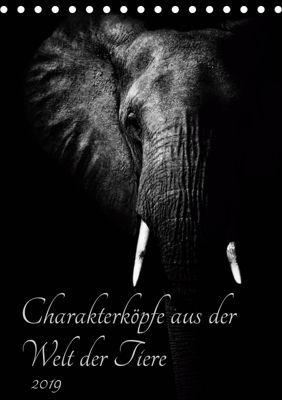 Charakterköpfe aus der Welt der Tiere (Tischkalender 2019 DIN A5 hoch), Kirsten Karius