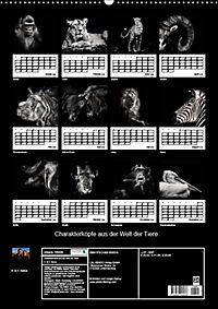 Charakterköpfe aus der Welt der Tiere (Wandkalender 2019 DIN A2 hoch) - Produktdetailbild 13