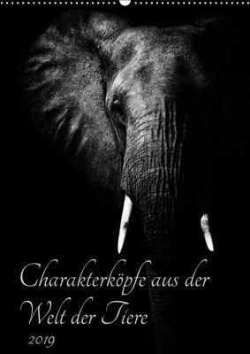 Charakterköpfe aus der Welt der Tiere (Wandkalender 2019 DIN A2 hoch), Kirsten Karius