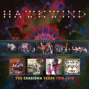 Charisma Years 1976-1979 (4cd Clamshell Box), Hawkwind