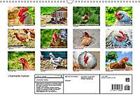 Charmante Hühner (Wandkalender 2019 DIN A3 quer) - Produktdetailbild 13
