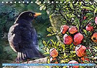 Charmantes Gezwitscher (Tischkalender 2019 DIN A5 quer) - Produktdetailbild 8