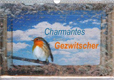 Charmantes Gezwitscher (Wandkalender 2019 DIN A4 quer), Anette/Thomas Jäger
