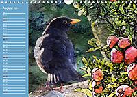 Charmantes Gezwitscher (Wandkalender 2019 DIN A4 quer) - Produktdetailbild 8
