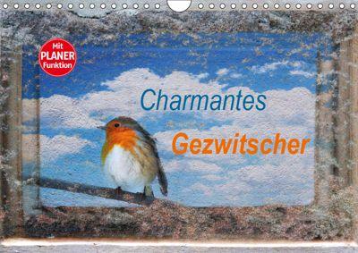 Charmantes Gezwitscher (Wandkalender 2019 DIN A4 quer), Anette/Thomas Jäger, Anette Jäger