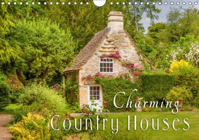 Charming Country Houses (Wall Calendar 2019 DIN A4 Landscape), Christian Mueringer