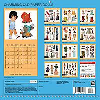 CHARMING OLD PAPER DOLLS (Wall Calendar 2019 300 × 300 mm Square) - Produktdetailbild 13