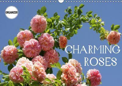 Charming Roses (Wall Calendar 2019 DIN A3 Landscape), Gisela Kruse