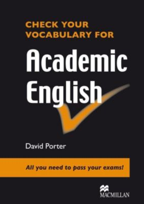 Check your Vocabulary for Academic English
