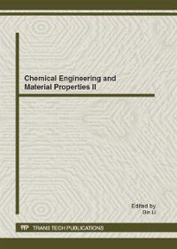 Chemical Engineering and Material Properties II