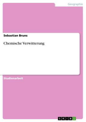 Chemische Verwitterung, Sebastian Bruns