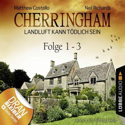 Cherringham - Landluft kann tödlich sein, Sammelband: Cherringham - Landluft kann tödlich sein, Sammelband 1: Folge 1-3(Hörbuch-Download)