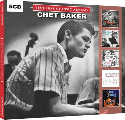 Chet Baker, 5 CDs