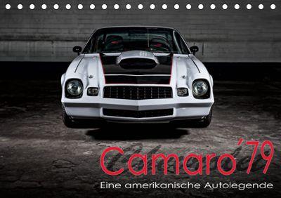 Chevrolet Camaro 79 (Tischkalender 2019 DIN A5 quer), Peter von Pigage