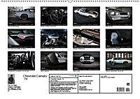 Chevrolet Camaro 79 (Wandkalender 2019 DIN A2 quer) - Produktdetailbild 13