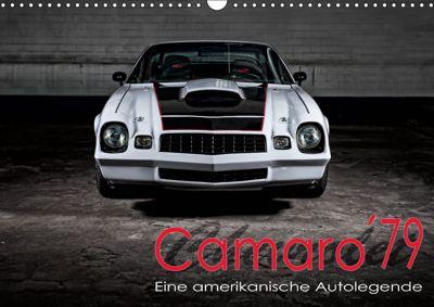 Chevrolet Camaro 79 (Wandkalender 2019 DIN A3 quer), Peter von Pigage