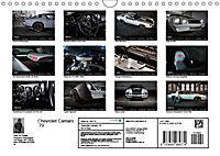 Chevrolet Camaro 79 (Wandkalender 2019 DIN A4 quer) - Produktdetailbild 13