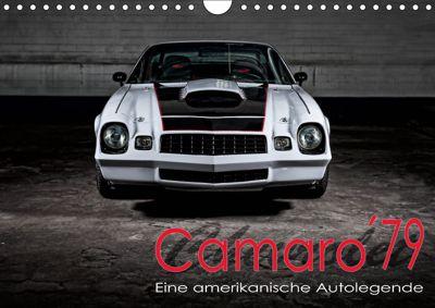 Chevrolet Camaro 79 (Wandkalender 2019 DIN A4 quer), Peter von Pigage, Peter von Pigage