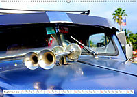 Chevy Schätzchen - 80 Jahre alte Oldtimer in Kuba (Wandkalender 2019 DIN A2 quer) - Produktdetailbild 9