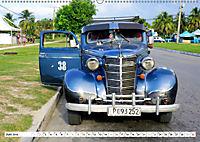 Chevy Schätzchen - 80 Jahre alte Oldtimer in Kuba (Wandkalender 2019 DIN A2 quer) - Produktdetailbild 6