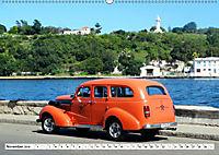 Chevy Schätzchen - 80 Jahre alte Oldtimer in Kuba (Wandkalender 2019 DIN A2 quer) - Produktdetailbild 11