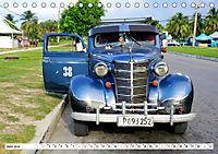 Chevy Schätzchen - 80 Jahre alte Oldtimer in Kuba (Tischkalender 2019 DIN A5 quer) - Produktdetailbild 6