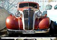 Chevy Schätzchen - 80 Jahre alte Oldtimer in Kuba (Tischkalender 2019 DIN A5 quer) - Produktdetailbild 3